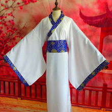 DM COS 2019 Halloween Party Role-playing Costume Hanfu Male Ancient Knight Cosplay Kimono Dress Female Film Stage