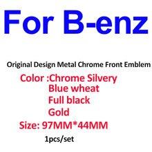 1 шт металлическая эмблема на автомобильную головку логотип
