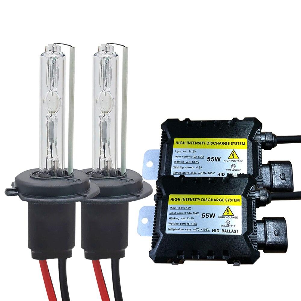 35W 55W Xenon H7 Light Bulb Car Headlight H1 H3 H7 H11 9005 9006 4300k 5000k 6000k 8000k HID Slim Ballast Xenon Headlamp 12V Kit