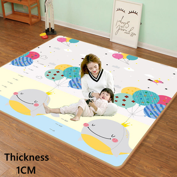 200 *180cm *1cm Foldable Cartoon Baby Play Mat Xpe Puzzle Children Mat High Quality Baby Climbing Mat Child Carpet Baby Play Mat baby crawling mat waterproof foldable cartoon rug xpe puzzle children s mat climbing pad foam puzzle game blanket baby carpet