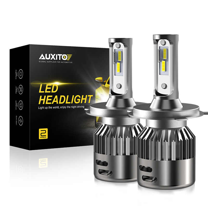 AUXITO H4 9003 Hi Lo Beam LED Turbo Headlight CSP 6000K Auto DRL Fog Light For Toyota Hilux Corolla Camry Rav4 Yaris Echo Prius