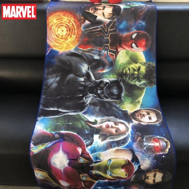 Summer Bath Towel Beach Towel 60*120cm The Avengers Iron-Man Minnie Mickey Bath Towels Adult Children outdoor Camping Swimming 2