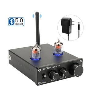 Image 1 - Aiyima HIFI Bluetooth 5.0 6J1 Ống Chân Không Khuếch Đại Tiền Khuếch Đại Preamp Amp Có Bass Treble Điều Chỉnh Cho Nhà Âm Thanh Sân Khấu