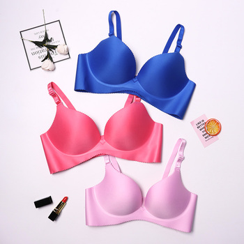 Sexy Deep U Cup Push Up Lingerie Bras For Women Seamless Bralette Backless Plunge Intimates Female Underwear 2020 2