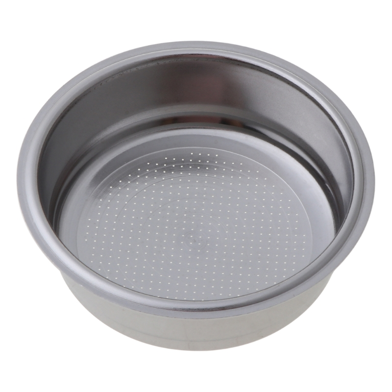 High Quality 51mm Coffee Tea Filter Basket Silver Stainless Steel Coffee Machine Filter Home Kitchen Coffee Making Tools