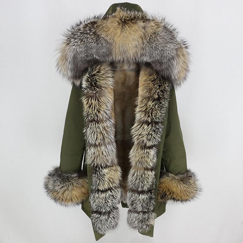 OFTBUY Waterproof Long Parka Winter Jacket Women Real Fur Coat Natural Fox Fur Collar Hood Thick Warm Streetwear Detachable New 37