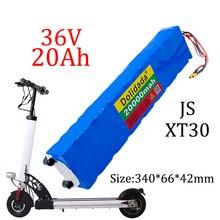 36 в 20 Ач 18650 перезаряжаемый литиевый аккумулятор 10S3P 500 Вт Высокая мощность для модифицированных велосипедов, скутеров, электромобилей, с BMS ...