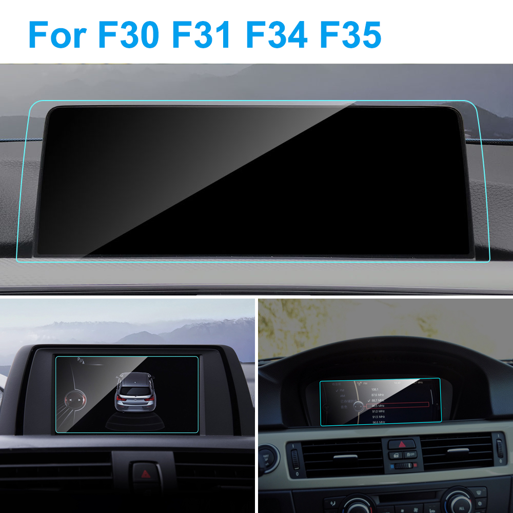 8.8 6.5 Inch Car GPS Navigation Screen  Protector  For BMW E90 F30 F31 F34 F35 3 Series Interior Tempered Glass Protective Film
