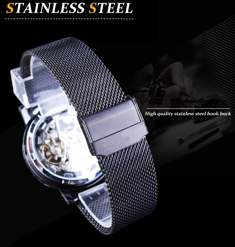 H174eeedc67e84621a56b090dcfd9db336 Winner Stainless Steel Mesh Band Transparent Classic Thin Case Hollow Skeleton Mens Male Mechanical Wrist Watch Top Brand Luxury