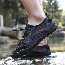 מים נעלי גברים אקווה נעלי חוף נעליים מהיר ייבוש במעלה הזרם נעלי יחף חיצוני יוגה עור נעלי שחייה נעלי ספורט צלילה