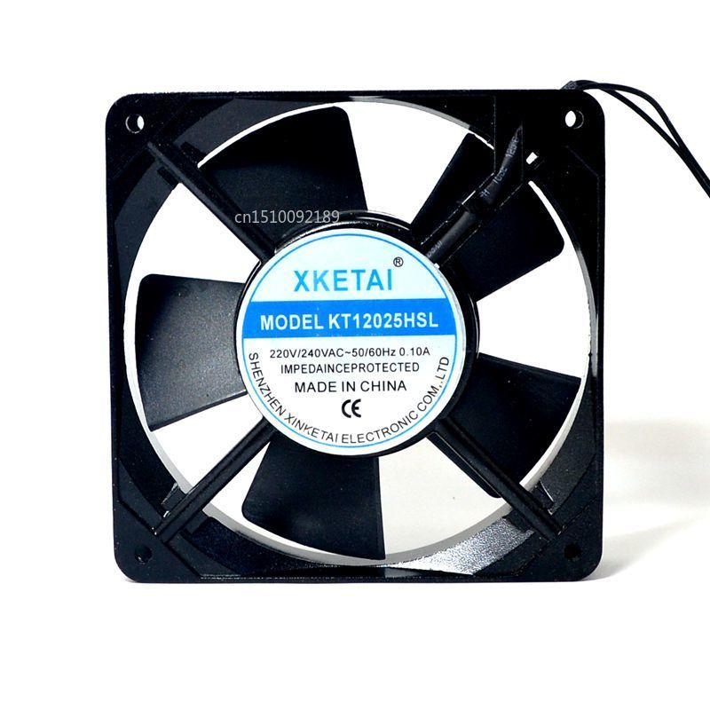 For XKETAI KT12025HSL 220V 0.10A 12025 12CM Cabinet Cooling Fan Free Shipping