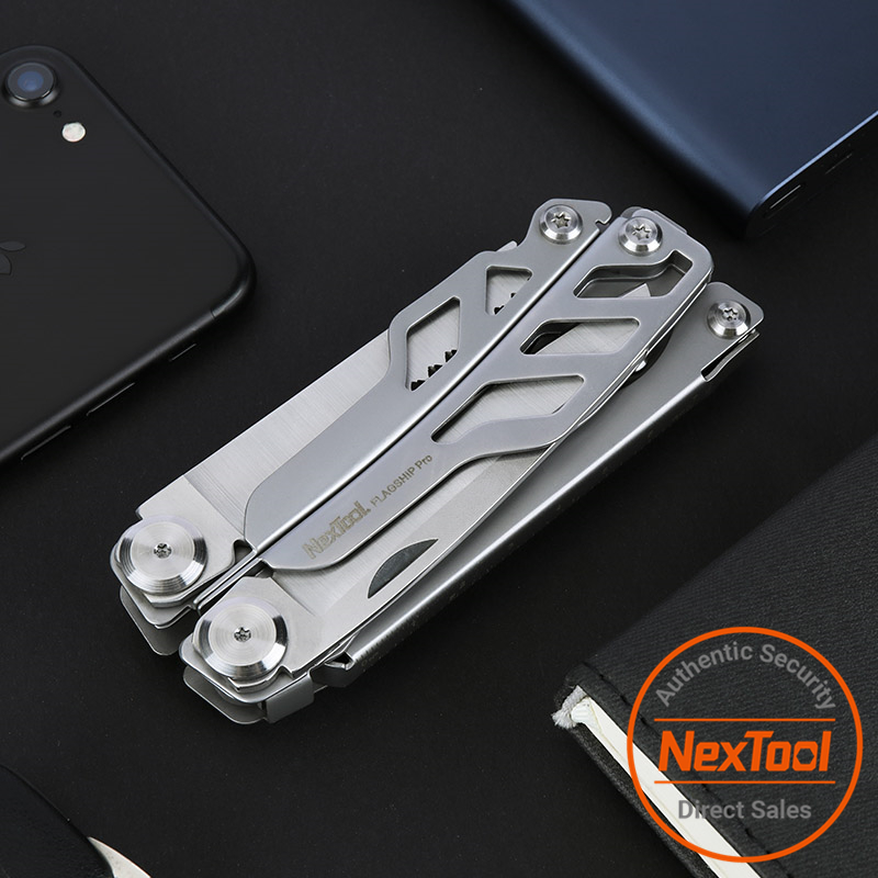 Tools : NexTool EDC Outdoor Hand Tool Set 16 IN 1 Multi Functional Plier Folding Stainless Steel Knife Screwdriver Can Opener NE0104