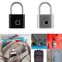 Padlock 10/40 Smart Fingerprint Door Lock Portable Anti-Theft Lock IP65 Waterpoof GymLock Anti-thief Anti-dust Anti-erosion D30