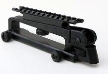 Detachable Black Carry Handle W/ Dual Aperture A2 rear sight See through Picatinny Rail Mount Combo M4 M16 AR15