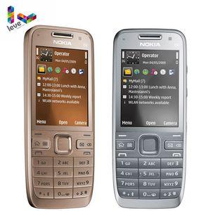 Смартфон Nokia E52 GSM, Wi-Fi, Bluetooth, GPS, МП, Поддержка Русская и Арабская клавиатуры, Оригинальный разблокированный мобильный телефон