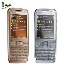 Nokia E52 GSM Smartphones WIFI Bluetooth GPS 3.2MP Ondersteuning Russische & Arabisch Toetsenbord Originele Ontgrendeld Mobiele Telefoon