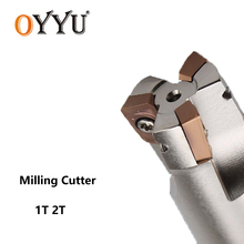 OYYU BAP300R CNC BAP300 Right Angle Milling Cutter BAP 300R Shockproof Straight Bar Milling Cutting Carbide Inserts Lathe Cutter 1pcs bap 400r 160 40 8t bap right angle shoulder face mill apmt1604 inserts