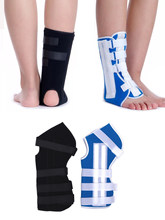 1-2pcs Ankle Brace Support Sports Adjustable Ankle Straps Foot Stabilizer Orthosis Football Compression Ankle Socks Protector
