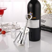 Zinc alloy red beer bottle opener multifunctional creative wine