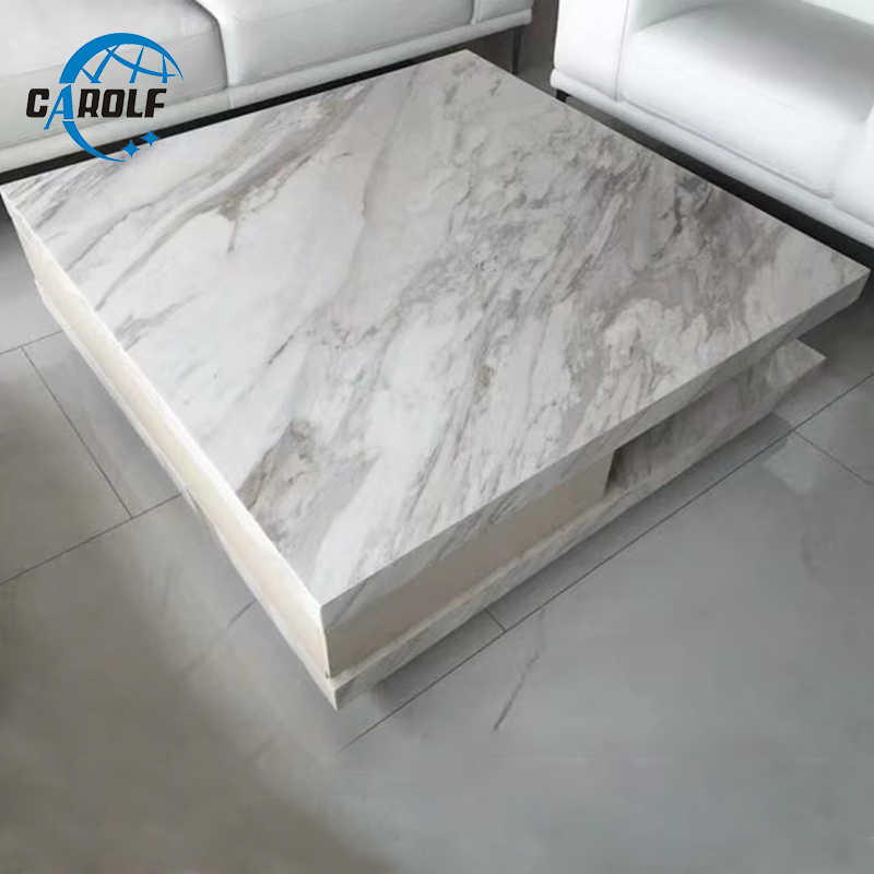 White Marble Coffee Table Sofa