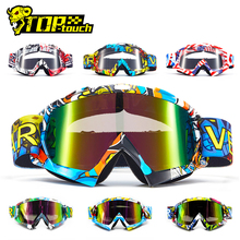 Motorcycle Goggles Glasses Dirt-Bike Colorful-Lens VEMAR Eyewear Snowboard