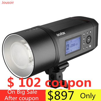 Godox AD600Pro Witstro with Built-in Godox 2.4G Wireless X System 600Ws TTL HSS Li-on Battery All-In-One Outdoor Flash  CD50Y