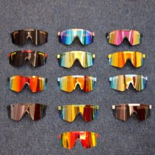 Luxury Pit Viper High-end Sports Sunglasses Polarized TR90 Material Polaroid Lens Sun Glasses Men Women Original Case Sunglasses