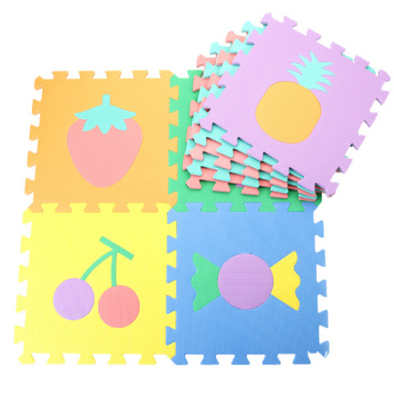 10pcs Alphabet Baby Play Mats Toy Foam Puzzle Mats EVA Educational Play Mat Baby Crawling Pad Carpet Early Teaching Floor Mats