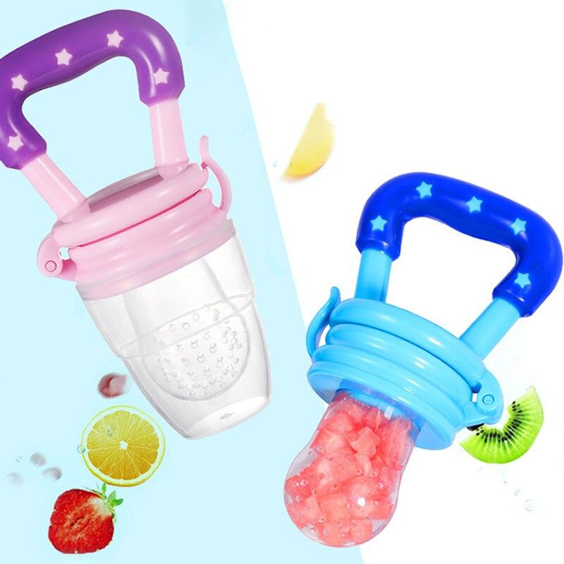 1Pcs Fresh Food Feeder Baby Nipple Feeding Safety Fresh Fruit Feeder Baby Pacifer Feeder For Infant Supplies