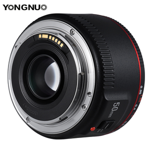 Image 2 - YONGNUO YN50mm F1.8 II Standard Prime Lens Large Aperture Auto Focus 0.35 Closest Focal Length for Canon EOS 5DII 5DIII 5DS 5DSR