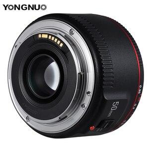 Image 2 - Стандартный основной объектив YONGNUO YN50mm F1.8 II, Большая диафрагма, автофокус 0,35, минимальное фокусное расстояние для Canon EOS 5DII 5diii 5DS 5DSR