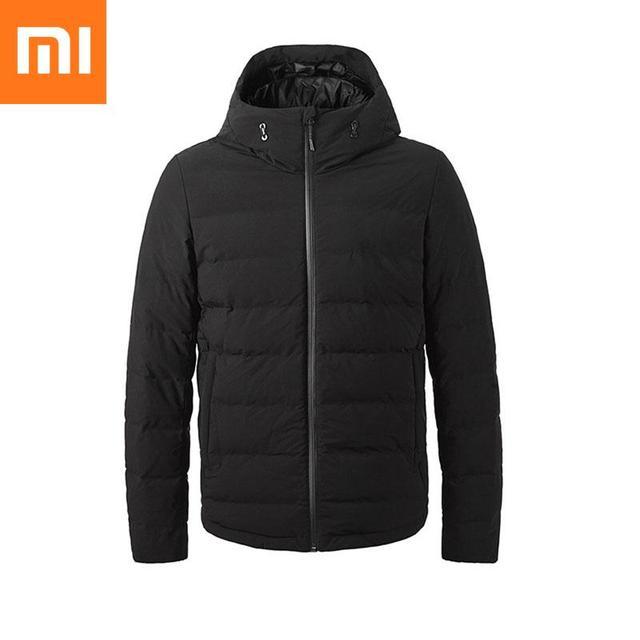 Youpin فانكل أسفل معطف شاومي سترة التحكم في درجة الحرارة التدفئة المستمرة غاري أوزة ملء مكافحة الحفر Proces معطف الشتاء
