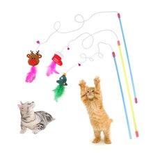 Любимая игрушка кошки для питомца Рождественская праздничная