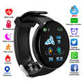Bluetooth Smart Watch D18 Heart Rate Blood Monitor SmartWatch Fitness Tracker kids Women SmartWatch for Android IOS SmartWatch