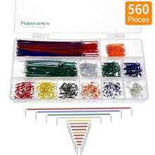 10pcs lot 5pin 100cm m m m f f f dupont cable jumper wires for electronic diy experiment breadboard for uno r3 kits Dupont Wire Kit For Arduino Shield 560pcs 24AWG 14Size Breadboard Dupont Cable Lead U Shape 2-125mm Solderless PCB M-M Jumper