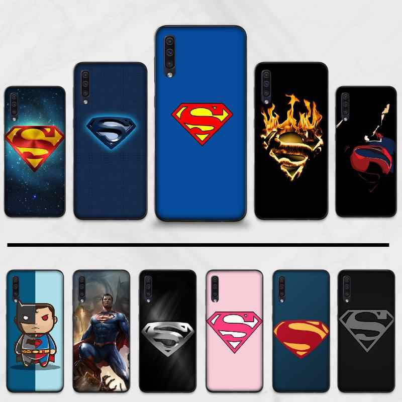 superman Logo American Phone Case Cover For Samsung Galaxy M10 20 30 A 40 50 70 71 6S A2 A6 A9 2018 J7 CORE PLUS STAR S10 5G C8