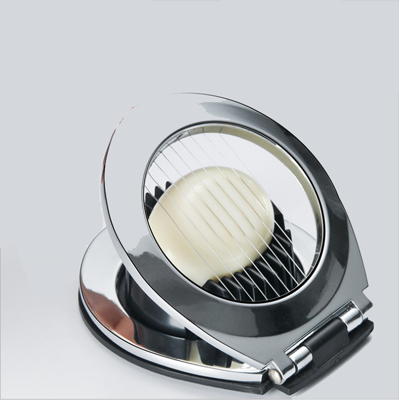 <font><b>Egg</b></font> Slicer <font><b>Egg</b></font> Tool Heavy Duty Slicer for Strawberry Fruit Garnish Slicer Stainless Steel Wire with 3 Slicing Styles image