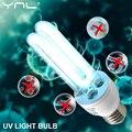 Ультрафиолетовая кварцевая лампа, ультрафиолетовая лампочка E27 15 Вт AC 220 В, УФ-стерилизатор, бактерицидная дезинфекция, лампа Kill Mite для дома