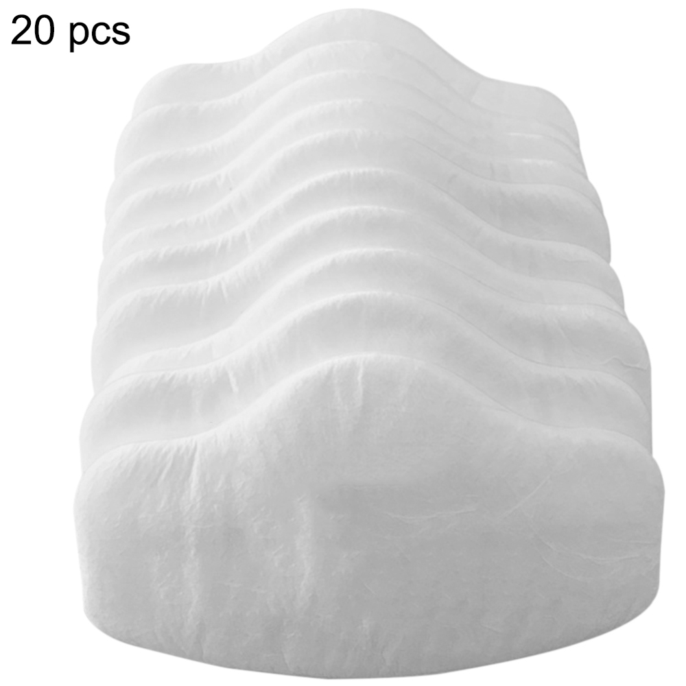 20pcs 3701CN Filter Cotton For 3M 3200 Gas Mask Supporting Dust Filter KN95 Pro Anti Industrial Construction Dust Pollen Haze