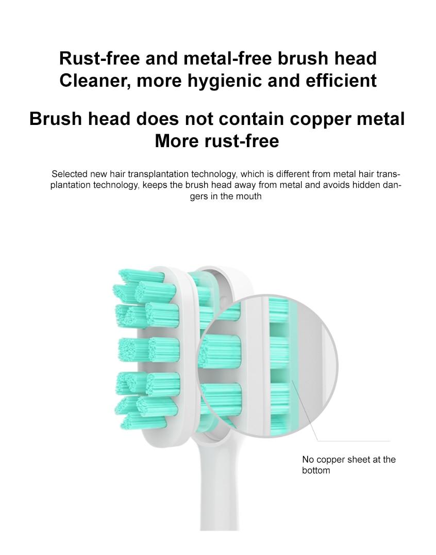 Original xiaomi t500 sonic escova de dentes