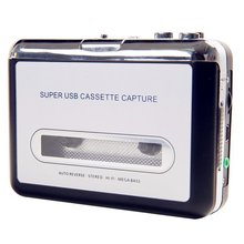 walkman USB Tape Cassette Player Tape Converter to MP3 Capture Audio Music Player Exquisitely Designed  cassette player redamigo usb mp3 cassette capture to mp3 usb cassette capture tape without pc usb cassette converter mp3 cassette to mp3 cr231