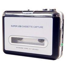 цена на walkman USB Tape Cassette Player Tape Converter to MP3 Capture Audio Music Player Exquisitely Designed  cassette player
