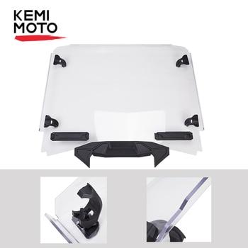 KEMIMOTO 2020 RZR UTV Full Windshield for Polaris RZR PRO XP 2020+ High Quality PC Clear Original Style Windscreen