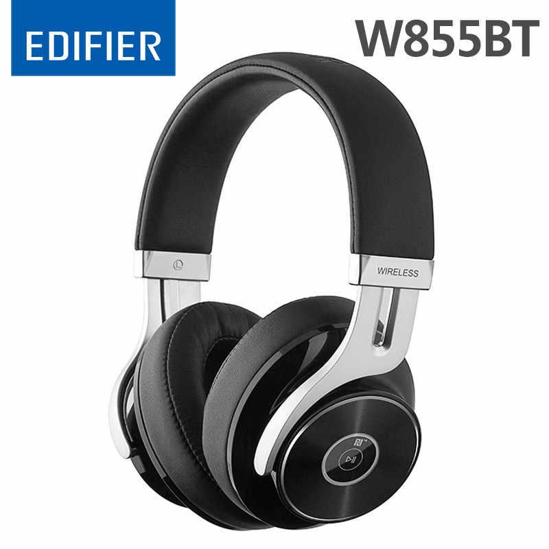 Edifier W855BT/W830BT bezprzewodowy zestaw słuchawkowy Bluetooth 4.1 słuchawki Stereo HIFI bezprzewodowe słuchawki z mikrofonem zestaw słuchawkowy do gier