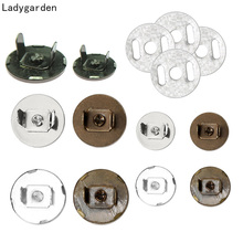 10Sets 14mm 18mm Metal Buckles Strong Magnetic Snap Fasteners Clasps Buttons for Handbag Purse Wallet Bags Parts Accessories