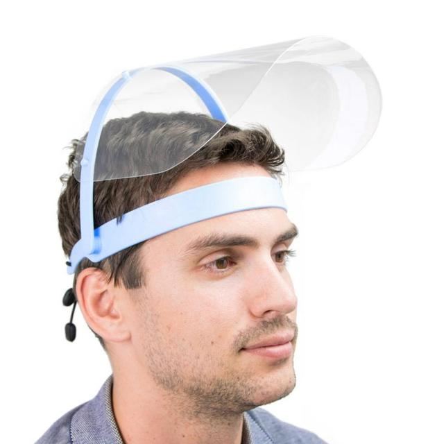 Hot Safety Clear Grinding Face Shield Screen Mask Visor Eye Prevent Saliva Splash Mask Dropship