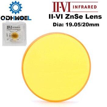 II-VI ZnSe Focus Laser Lens DIa. 19.05mm 20mm FL 50.8-101.6mm 2-4