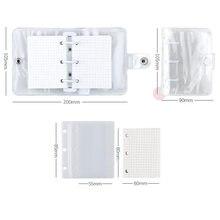 Спиральный прозрачный дневник свободный кольцо фотобумага отдельный