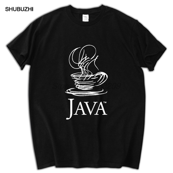 IT programmers JAVA LOGO T-shirt men short sleeve cotton shubuzhi brand euro size tee-shirt image
