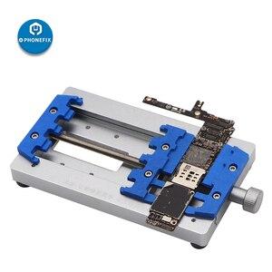 Image 5 - Mj k22 placa de circuito de alta temperatura de solda gabarito fixação para o telefone móvel placa mãe reparação pcb fixação titular